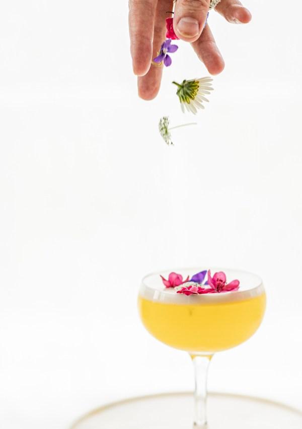 The Lemon Flora (Gin Sour)