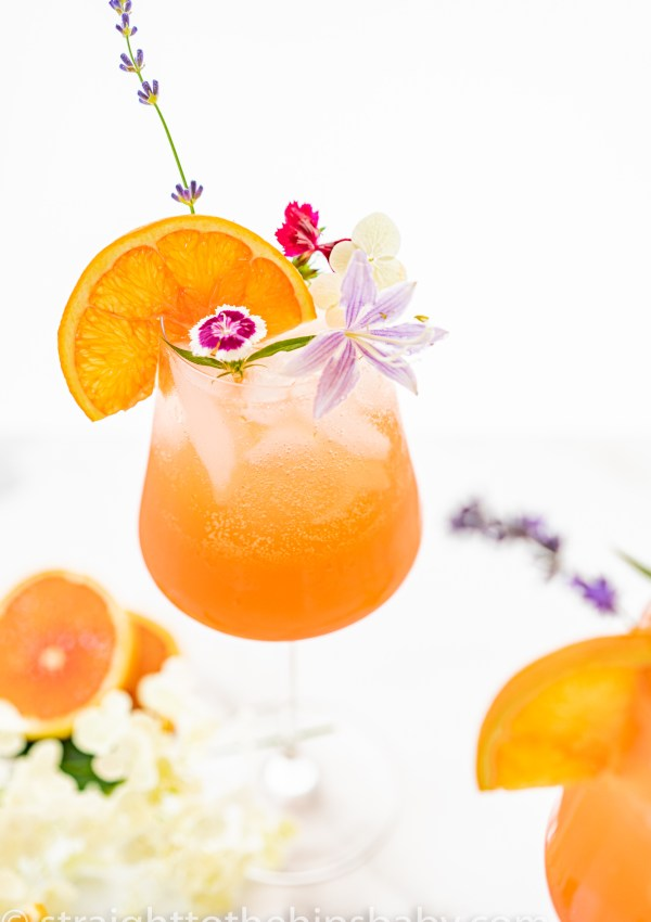 The Best Fresh Grapefruit Aperol Spritz