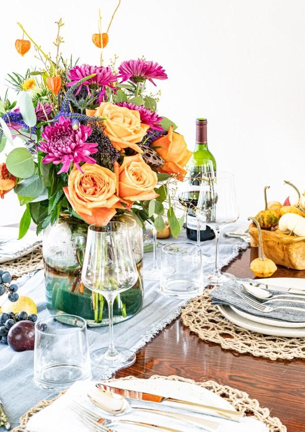 Easy Thanksgiving Table Decor Ideas 2020