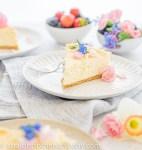 creamy sesame keto cheesecake, gluten free and sugar free