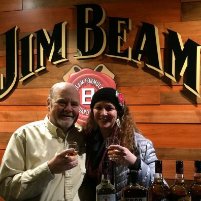 Master Distiller Fred Noe at Jim Beam