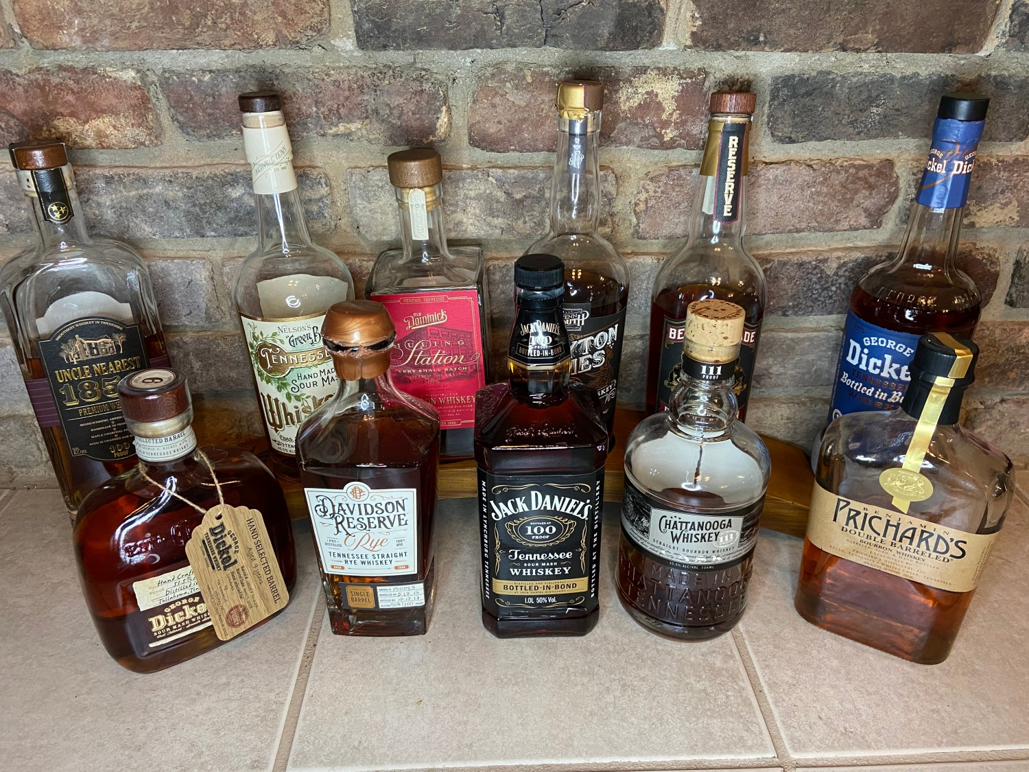 Tennessee Whiskeys
