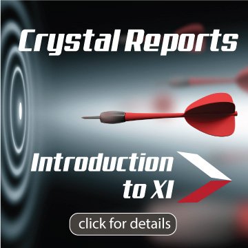 online crystal reports training
