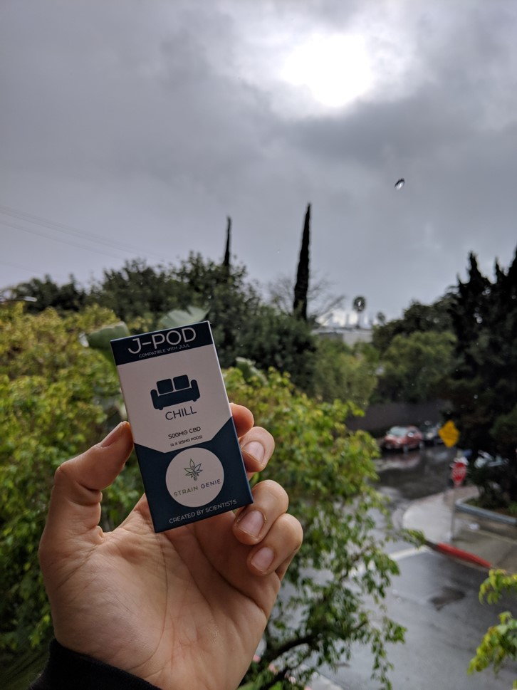 cbd chill rainy day