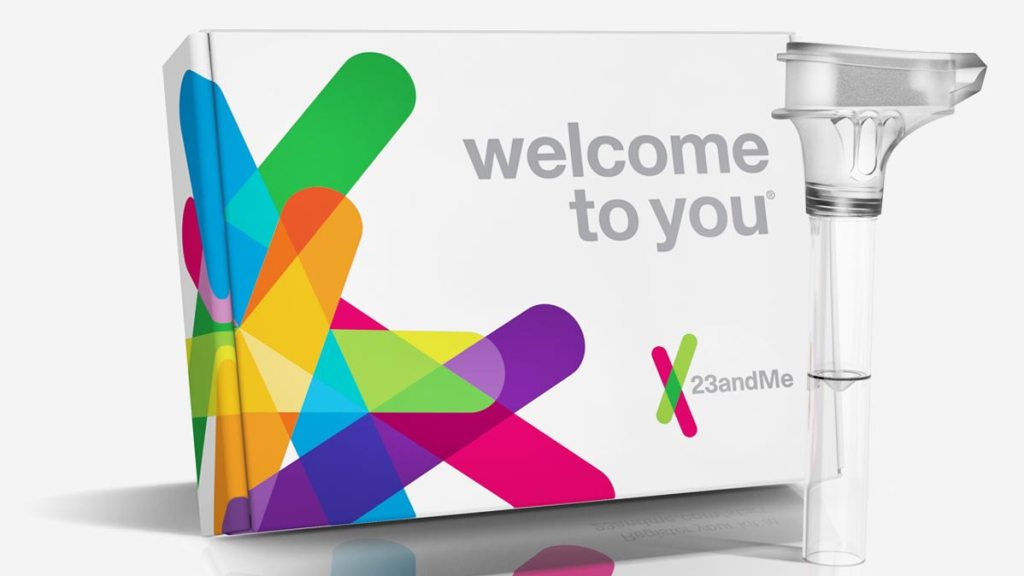 23andme raw data DNA test kit