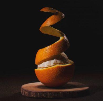 rind of an orange