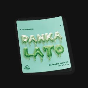 Dankalato Mylar Bag Strain Labels