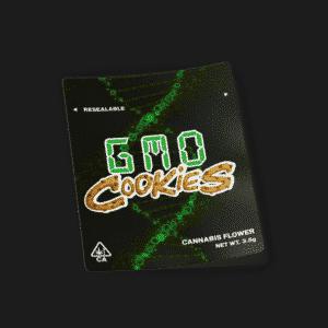GMO Cookies Mylar Bag Strain Labels