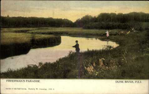Fisherman's Paradise. Warwick & Rutter #1851
