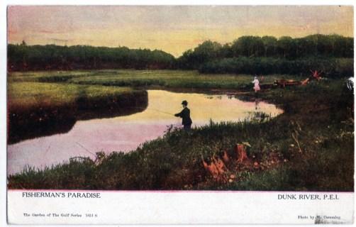 #1851 Fisherman's Paradise, Dunk River, P.E.I.