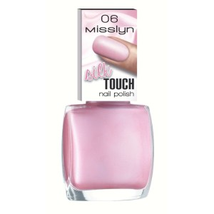 misslyn silk touch nail polish pink