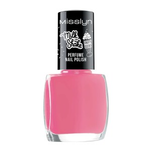 misslyn milk shake perfume nail polish pink frappe