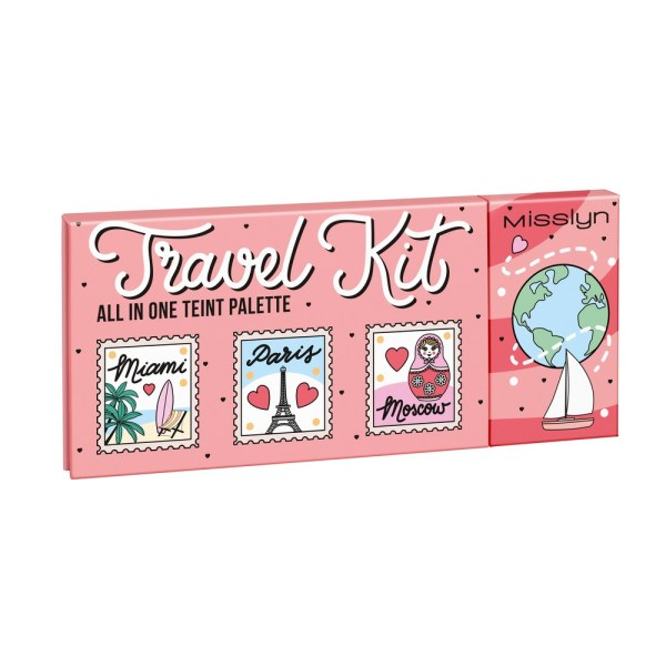 misslyn travel kit palette globetrotter (closed)