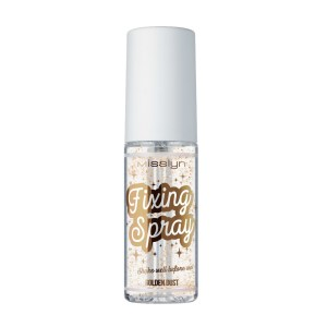 misslyn golden dust fixing spray