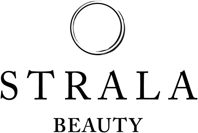Strala Beauty logo (black)