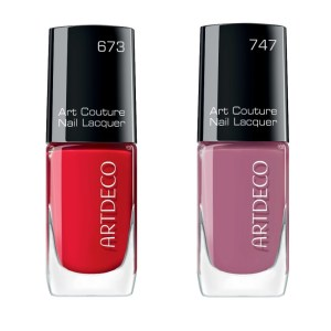 artdeco art couture nail lacquer no 673 and no 747