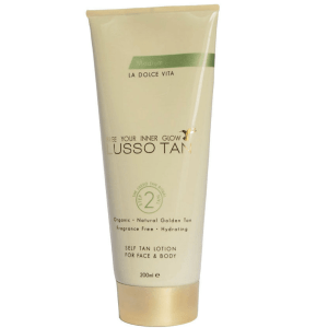 lusso tan self tanning lotion medium