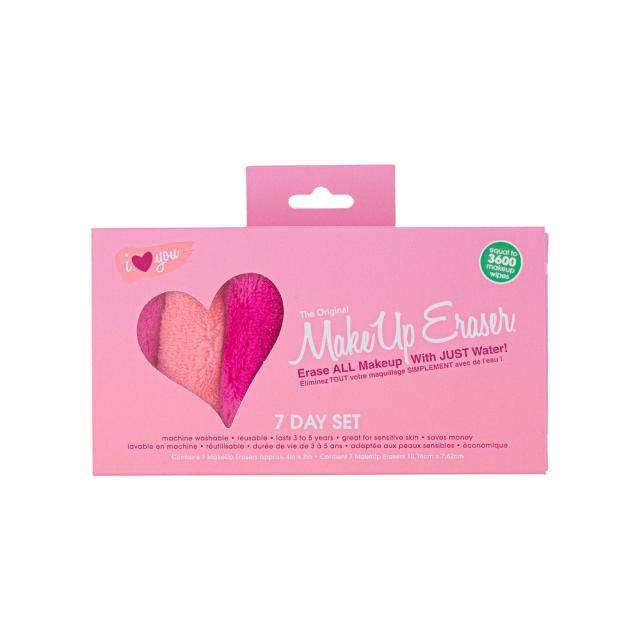 makeup eraser 7 day set (box)
