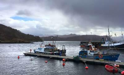 Gairloch Hafen