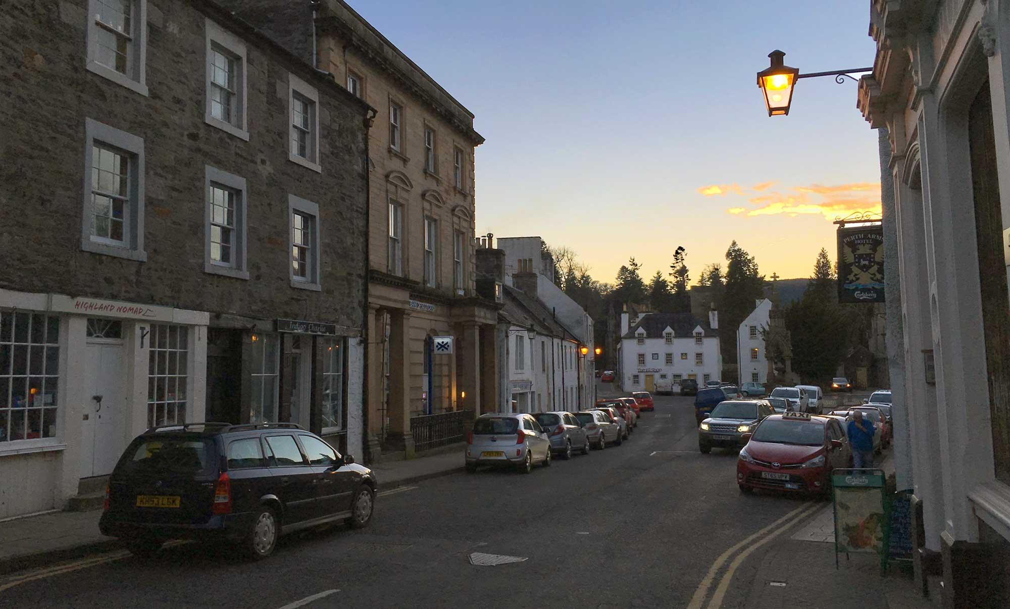 Dunkeld Town