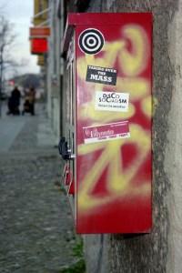 Graffiti auf Automaten