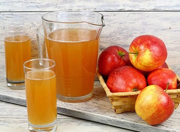 как правильно заготовить яблочный сок на зиму
