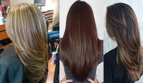 Женские стрижки на длинные волосы 2018: фото вид спереди и ...