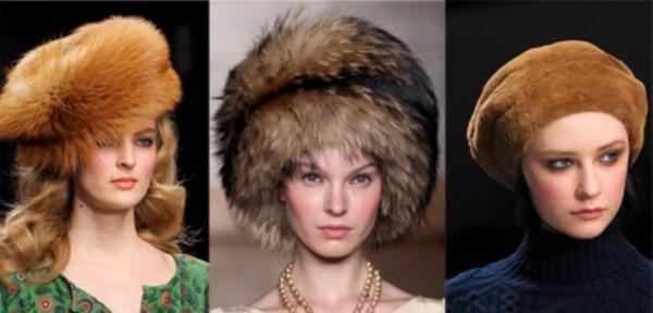 Модные меховые шапки, Зима 2016: фото самых модных женских ...
