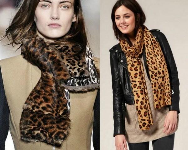 Модные шарфы, Зима 2015–2016 – фото модных женских шарфов ...