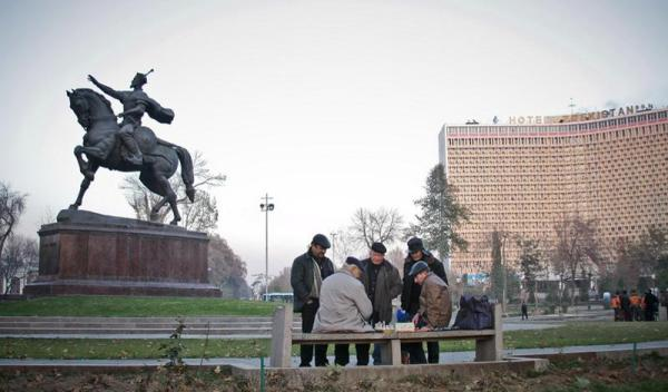 Замершее сердце Ташкента