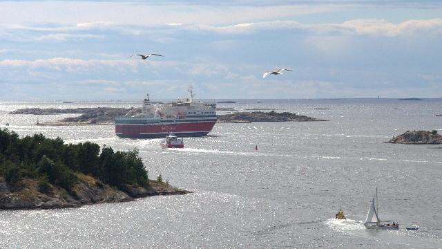 fjordline ausguck - Schweden Teil III