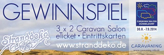 gewinne banner 1 - Gewinne 3x2 Karten für den Caravan Salon!