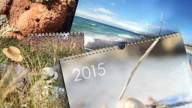 kalender 2015 - Verlosung Stranddeko Fotokalender 2015
