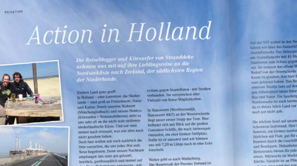 artikel ly1 - Stranddeko im Landyachting Magazin
