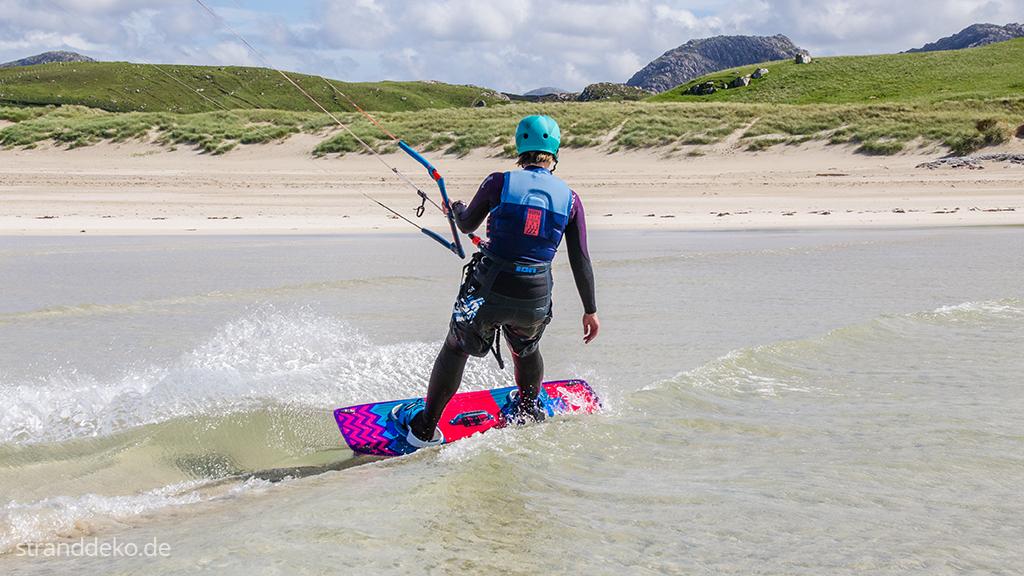 kitenschottland10 - Kiten auf den Äußeren Hebriden