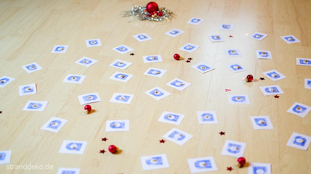 katzenorakel kalender 6 - Gewinnauslosung Schottland-Stranddeko-Kalender