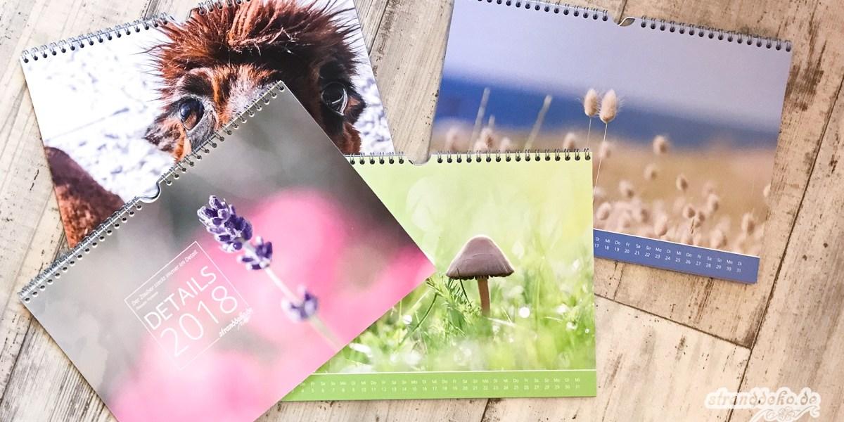 171125 KalenderVerlosung - Verlosung 20x Stranddeko Kalender 2018