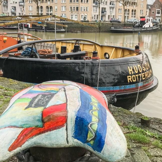 180203 Maassluis HoekvanHolland 020 - Maasluis und Hoek van Holland - 3 Stellplätze zum Schiffe gucken