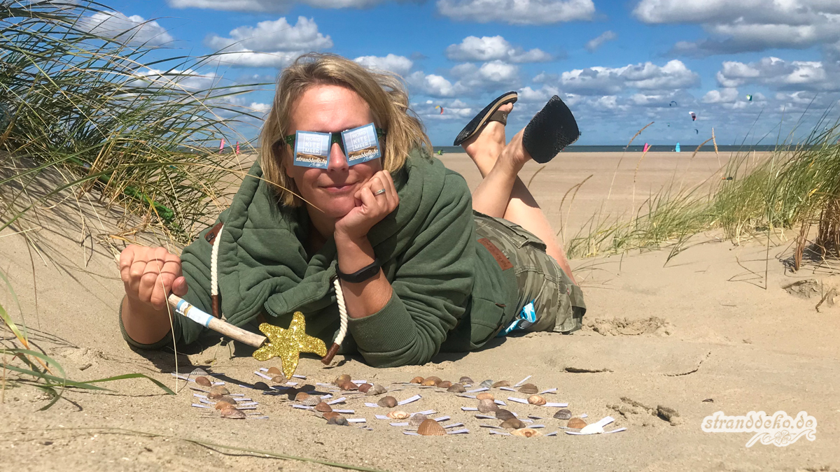 180811 Stranddeko Auslosung 013 - Die Stranddeko-Fee hat die Gewinner gezogen