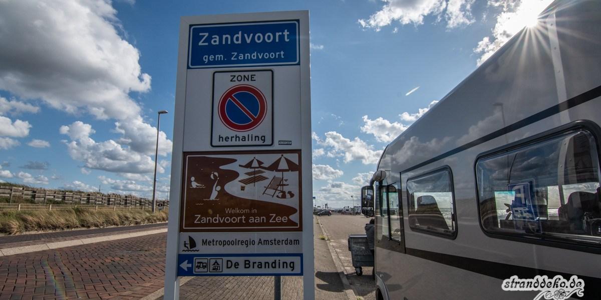 Zandvoort 011 - Wohnmobilstellplatz und Kitespot Zandvoort