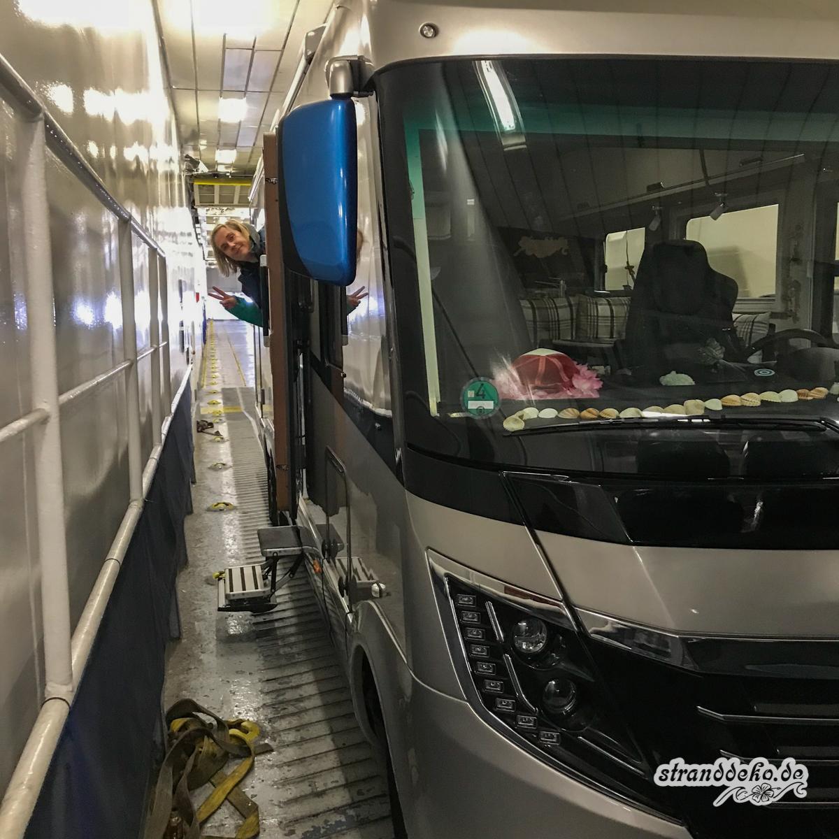 Fähre Schottland 3024 - Ijmuiden - Newcastle: Mit Wohnmobil und Fähre nach Schottland