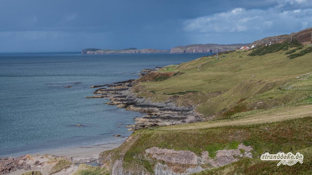 Schottland II 480 - Schottland - III - auf Strandsuche - Dunnet Beach, Thurso, Tongue
