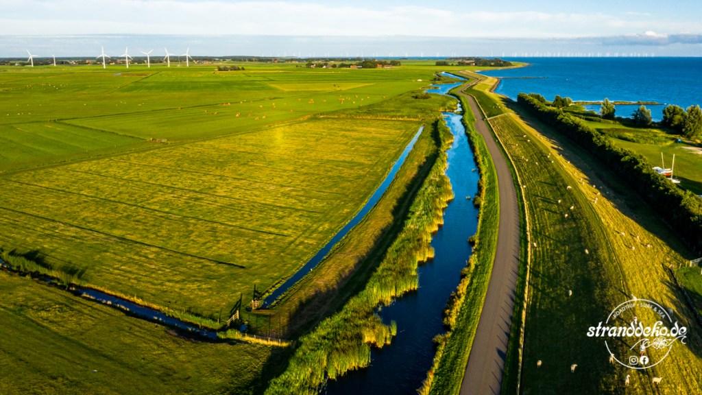 200409 Drohne Holland 046 1024x576 - Mit dem Wohnmobil rund ums Ijsselmeer