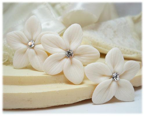 Stephanotis Hair Flowers Wedding Hair Flowers