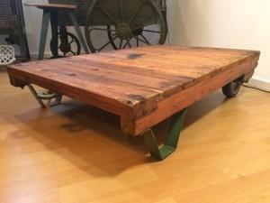 Rollpalette, Palettenmöbel, Coffeetable