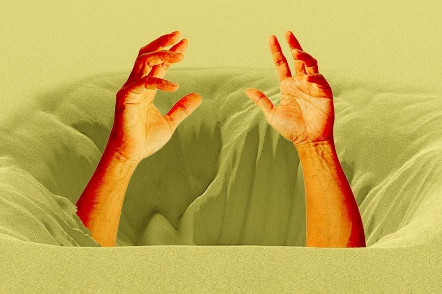 Αν πέσεις σε Κινούμενη Άμμο