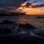 Sonnenuntergang am Playa Jardin