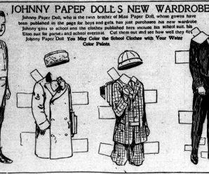 Johnny Paper Doll Activity