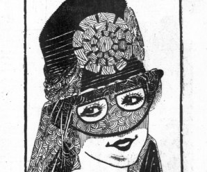 Domine Veils Bandit Fashion In 1915