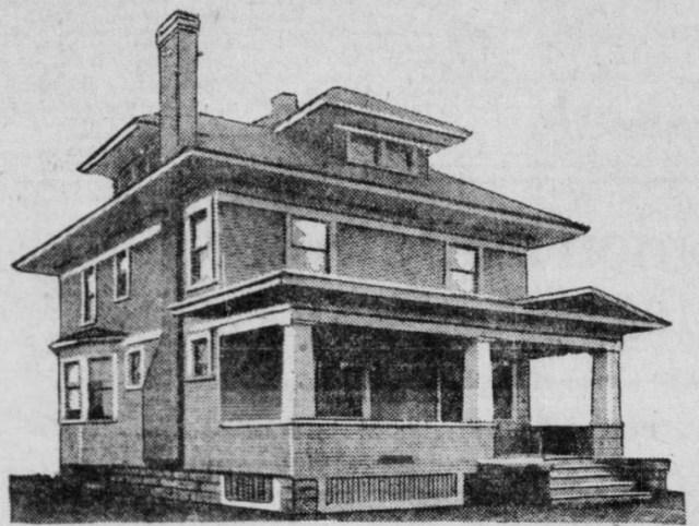 Three Bedroom Colonial House Plans From 1920 - StrangeAgo